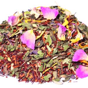 Blossom Tea, mix van blends met thee, fruit, kruiden
